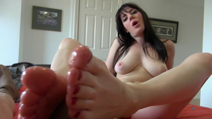 Lips and Feet on Your Cock